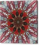 Mandala Of Glass Canvas Print