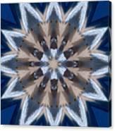 Mandala Sea Star Canvas Print