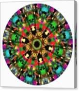 Mandala - Talisman 1104 - Order Your Talisman. Canvas Print