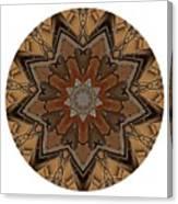 Mandala - Talisman 1333 Canvas Print