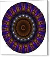 Mandala - Talisman 1398 Canvas Print