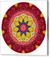 Mandala - Talisman 1404 Canvas Print