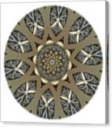 Mandala - Talisman 1434 Canvas Print