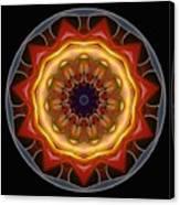 Mandala - Talisman 1452 Canvas Print