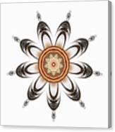 Mandala - Talisman 1630 Canvas Print