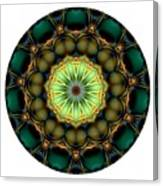 Mandala - Talisman 853 For Those Born In 1957 Canvas Print