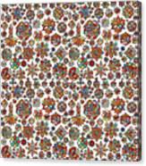 Mandala Traditional Design Canvas Print