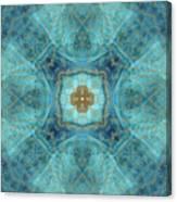 Mandala wind rose Canvas Print