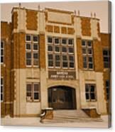 Mandan Jr High School 1 Canvas Print