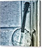 Mandolin Banjo In The Corner Canvas Print