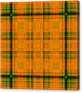Mandoxocco-wallpaper-orange-green Canvas Print