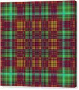 Mandoxocco-wallpaper-red-green Canvas Print