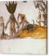 Mandrake, C1500 Canvas Print