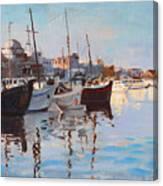 Mandraqi Rhodes Greece Canvas Print