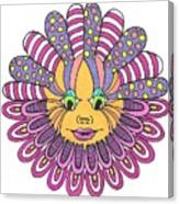 Mandy Flower Canvas Print