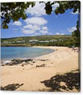 Manele Bay II Canvas Print