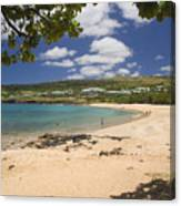 Manele Bay Canvas Print
