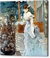 Manet: Cafe-concert, 1879 Canvas Print