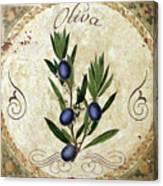 Mangia Olives Canvas Print