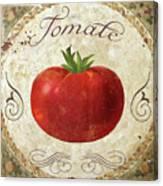 Mangia Tomato Canvas Print
