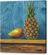 Mango And Pineapple Canvas Print