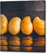 Ripe Mangoes Canvas Print