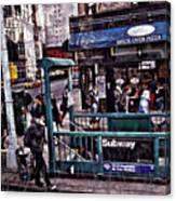 Manhattan 14th Street Canvas Print