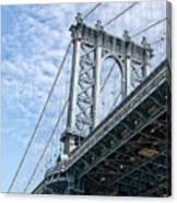Manhattan Bridge 4 Canvas Print