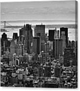Manhattan Cityscape Canvas Print