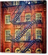 Manhattan Facade Canvas Print