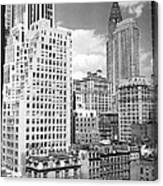 Manhattan From Madison Avenue Canvas Print