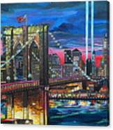 Manhattan Kinda Night Canvas Print