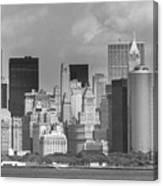 Manhattan New York Canvas Print
