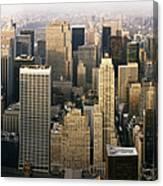 Manhattan Skyline - New York City Canvas Print