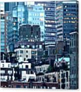 Manhattan View Canvas Print