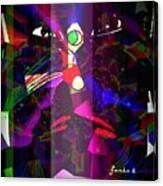 Maniac Faniart Canvas Print