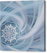 Manifest Beauty In Blue Canvas Print