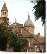 Manila Cathedral Canvas Print