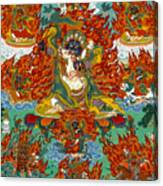 Maning Mahakala With Retinue Canvas Print