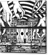 Manipulation  Canvas Print