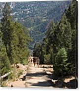 Manitou Springs Pikes Peak Incline Canvas Print