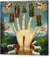 Mano Poderosa. The All-powerful Hand Canvas Print