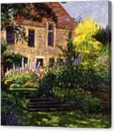Manor House Steps Canvas Print