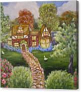 Manor Of Yore Canvas Print