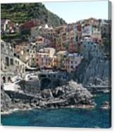 Manorola Italy Canvas Print