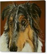 Man's Best Friend Canvas Print