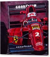 Mansell Ferrari 641 Canvas Print