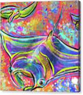 Mantas Canvas Print
