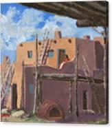 Manuelito's Apartment Canvas Print