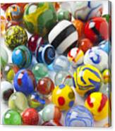 Many Beautiful Marbles Canvas Print